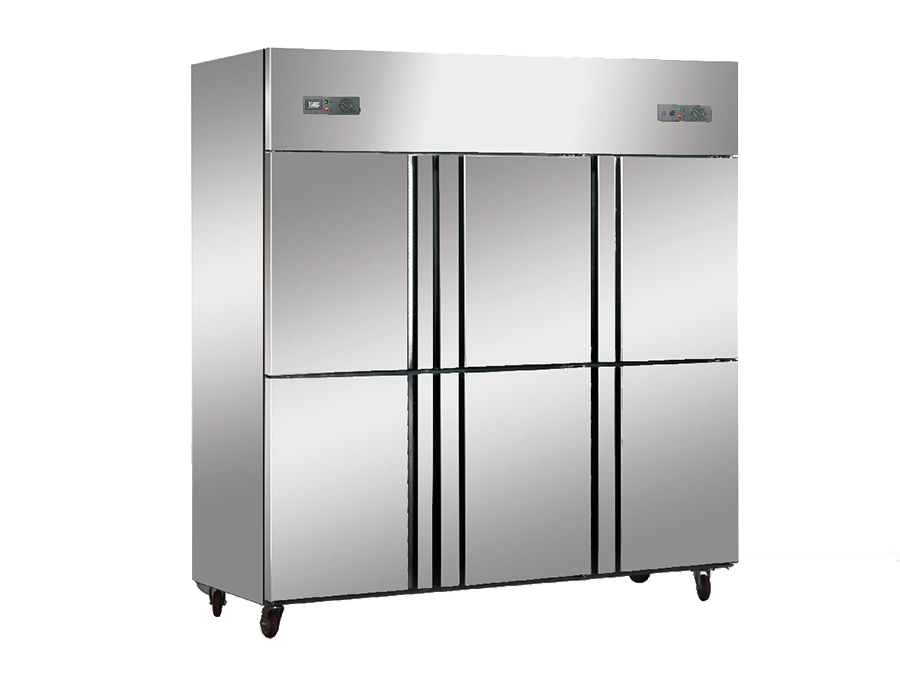 立德六门冷冻冷藏双温冰箱