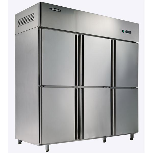洛德六门双温冰箱