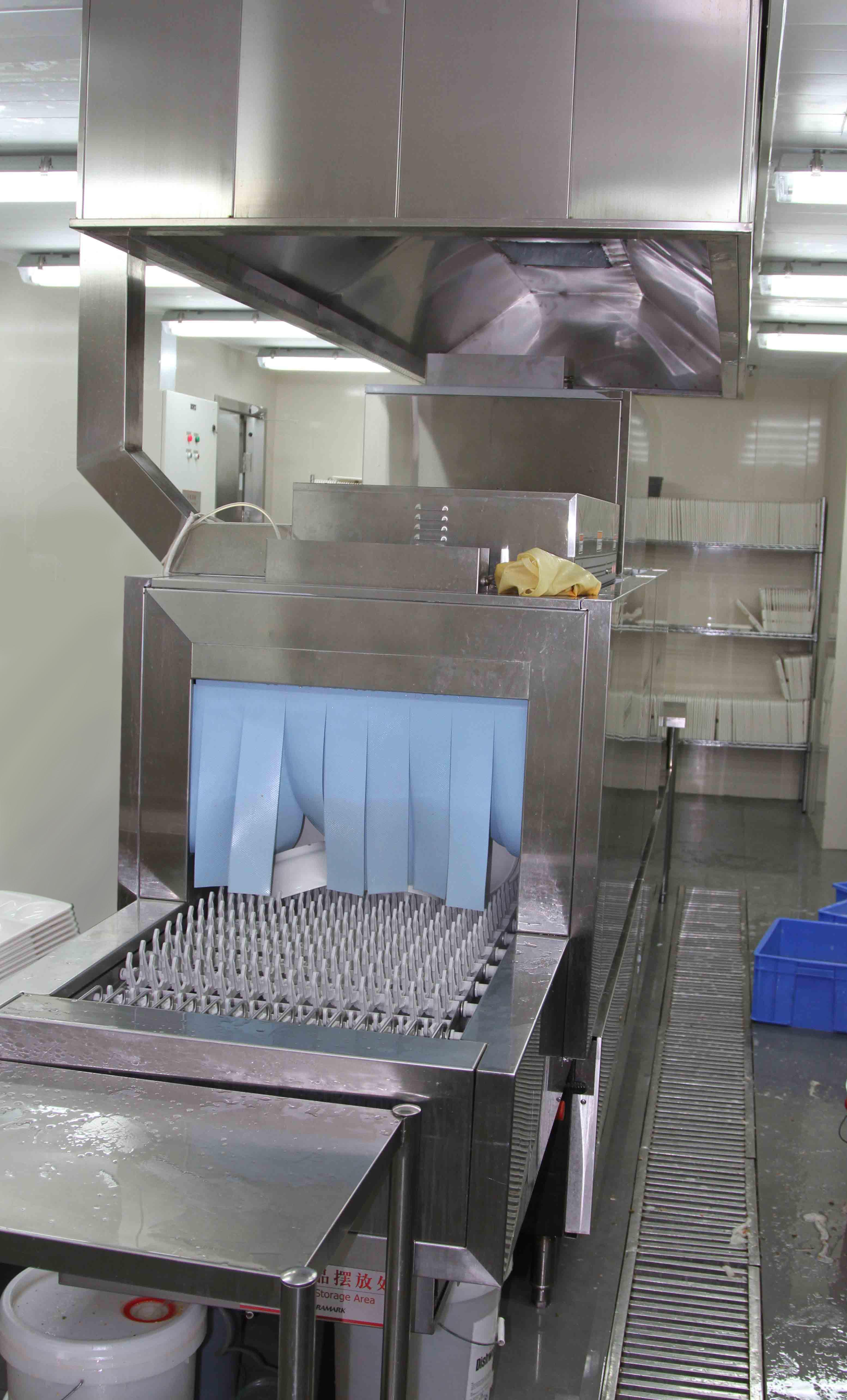 贝利单缸双喷通道式洗碗机