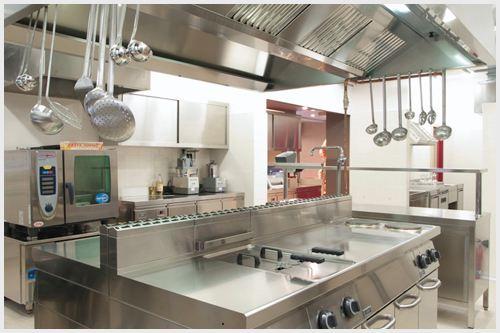 汉庭酒店(浦东曹路)厨房不锈钢操作台设备