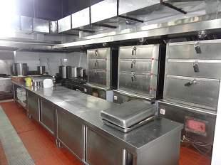 全季酒店(宝城路店)厨房不锈钢操作台设备