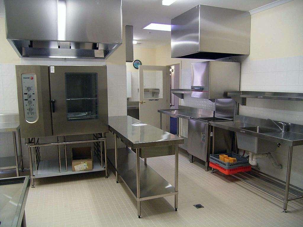 桔子水晶酒店(诸翟镇店)厨房不锈钢操作台设备