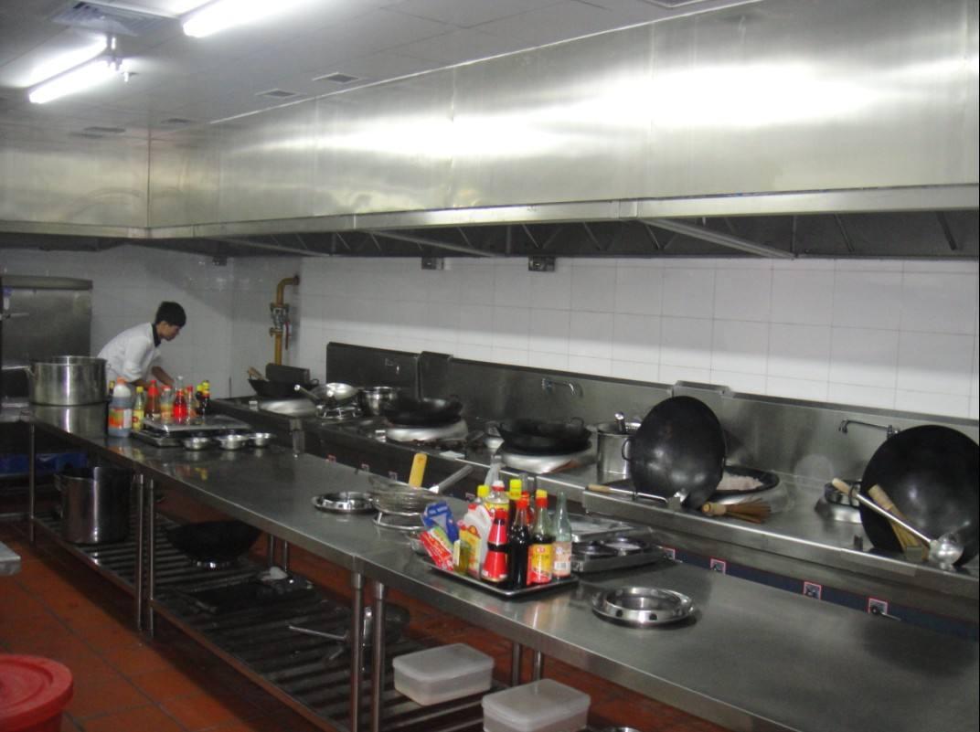 朱桥大食堂厨房不锈钢操作台设备